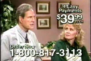 But wait, there's more! Ron Popeil selling products on TV