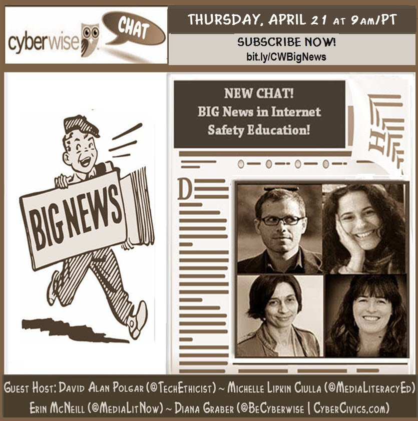 CW - CHAT BIG NEWS SEPIA GRAPHIC final