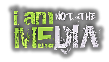 I am not the media logo