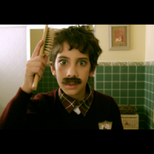 """Still from the film """"Ulises y los 10,000 Bigotes,"""" directed by Manuel Carames"""