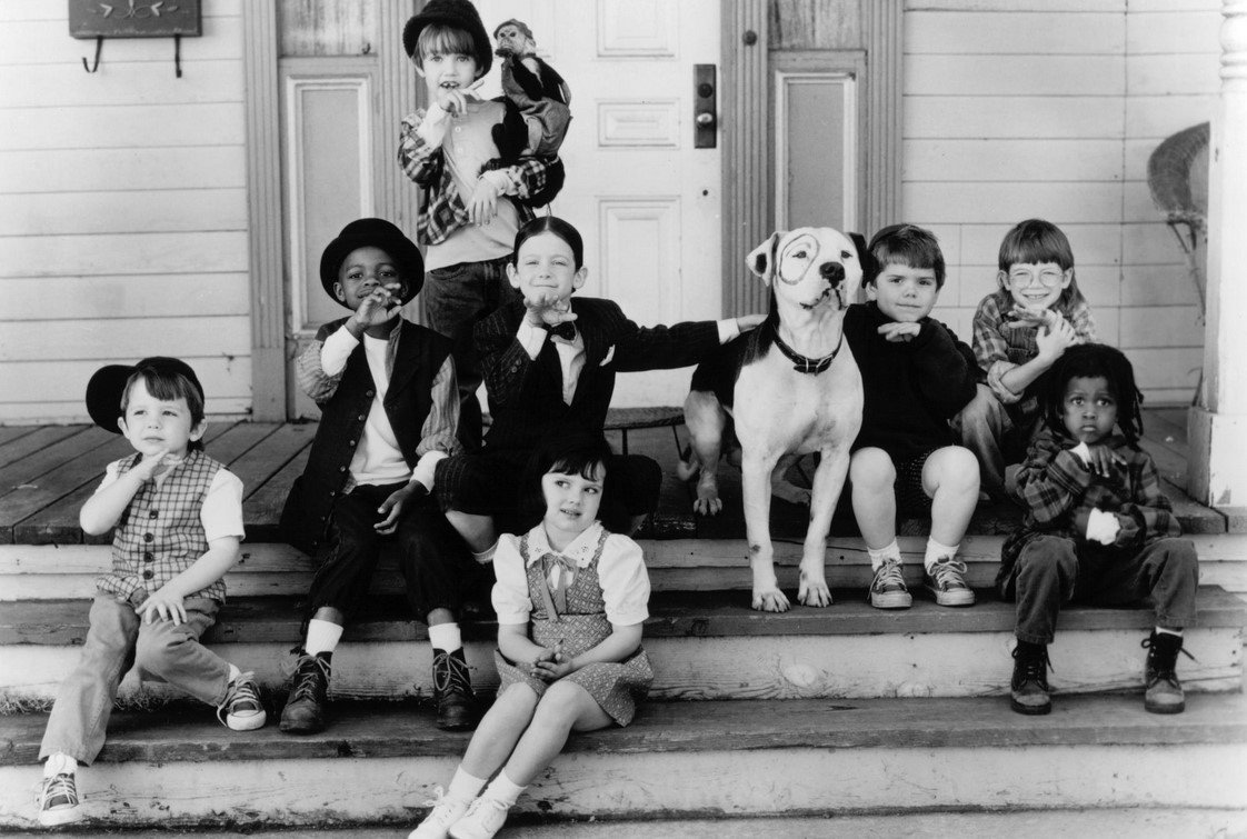 "Still from ""The Little Rascals,"" 1994, based on a long-running series of films and TV programs starting in 1920s."