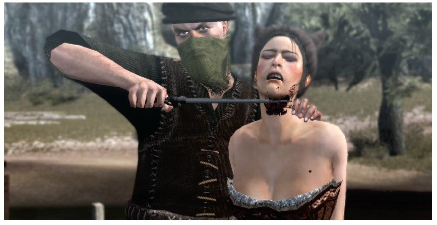 Screenshot from Assassin's Creed video game via Feminist Frequency