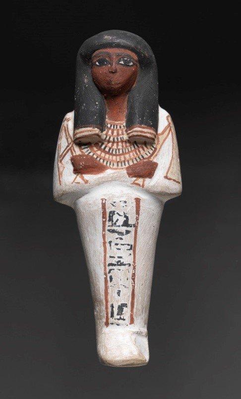 Shabti of Lady Humero, 1550-1320 BC © RISD Museum
