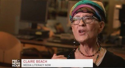 claire beach on pbs newshour