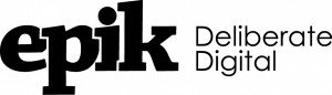 Epik Deliberate Digital Logo