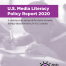 Media Literacy Report 2020 Cover